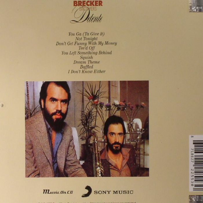 BRECKER BROTHERS, The - Detente