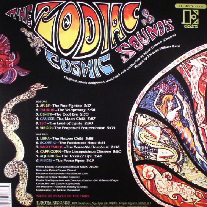 ZODIAC, The - Cosmic Sounds (mono) (reissue)