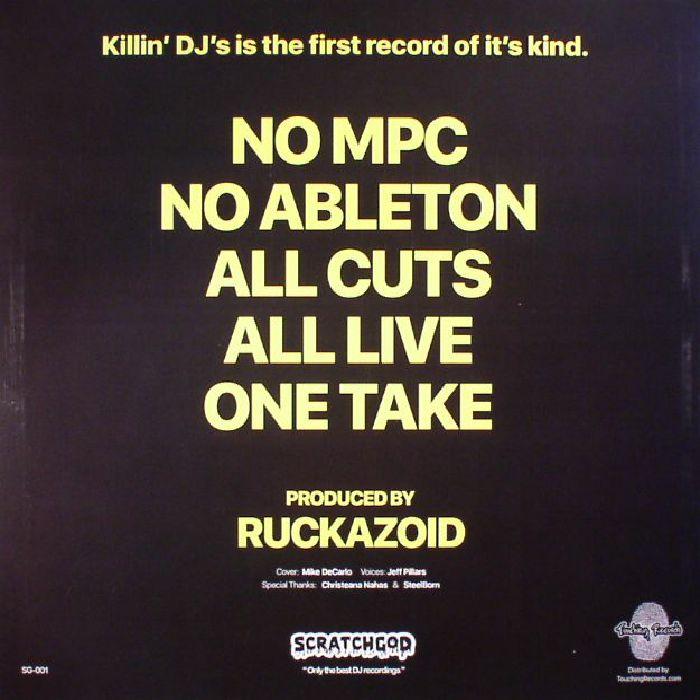 RUCKAZOID - Scratchgod presents Killin' DJ's: The Quadrilogy