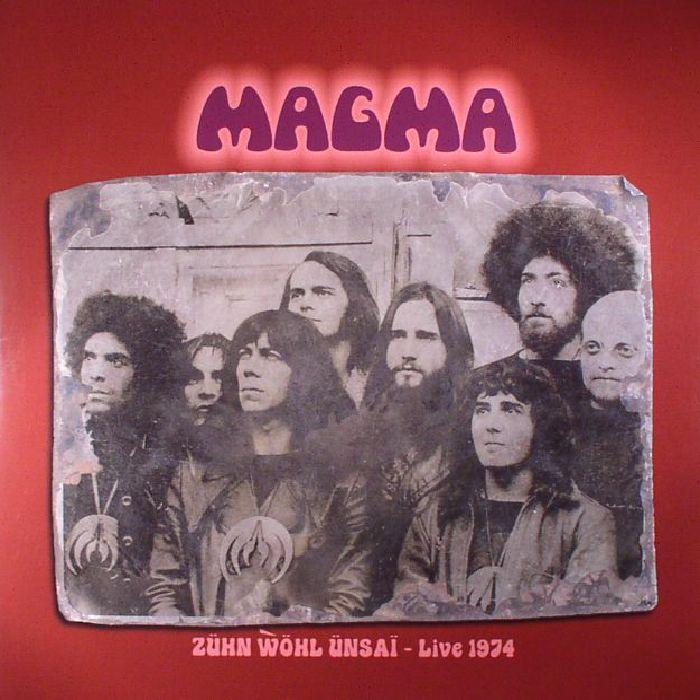 MAGMA Zuhn Wol Unsai: Live 1974 vinyl at Juno Records