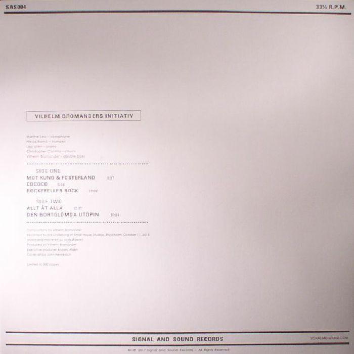 VILHELM BROMANDERS INITIATIV - Allt At Alla