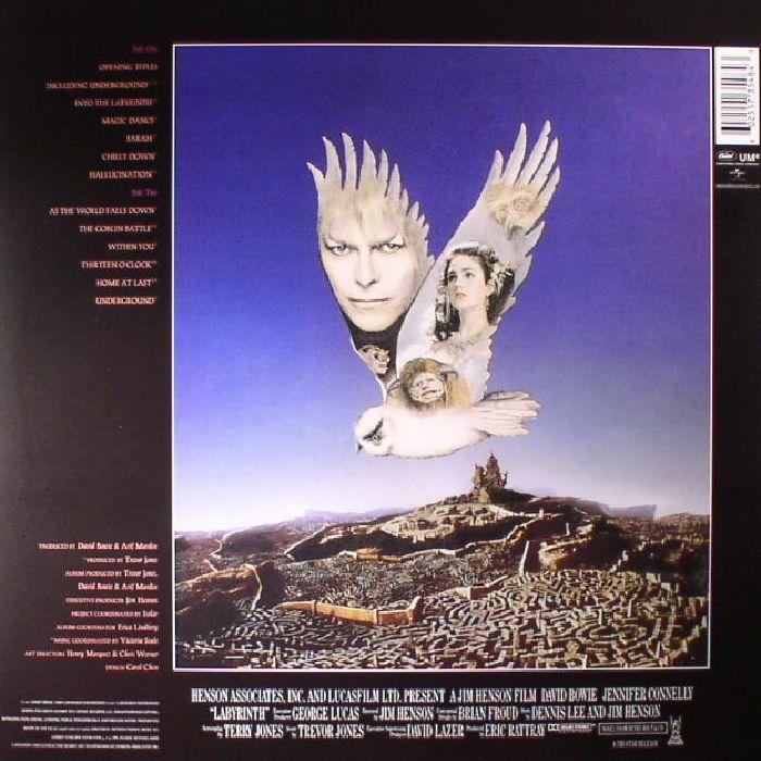 BOWIE, David/TREVOR JONES - Labyrinth (Soundtrack)