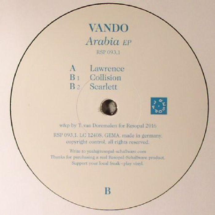 VANDO - Arabia EP