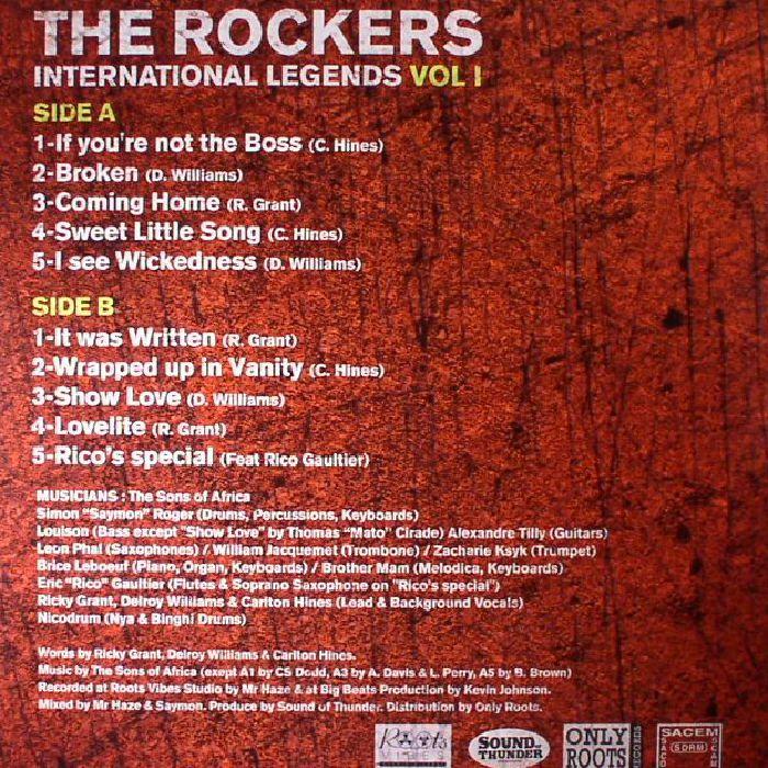 VARIOUS - The Rockers International Legends Showcase Vol 1