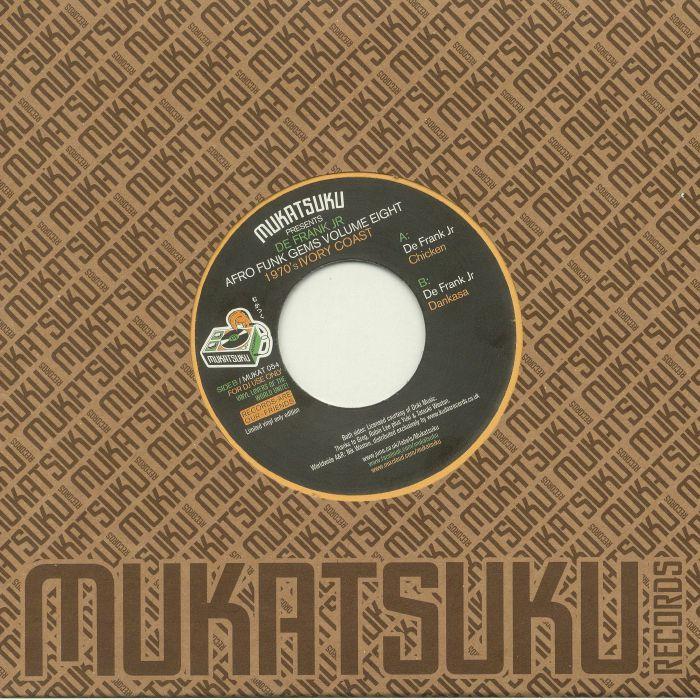 MUKATSUKU presents DE FRANK JR - Afro Funk Gems Volume Eight: 1970's Ivory Coast