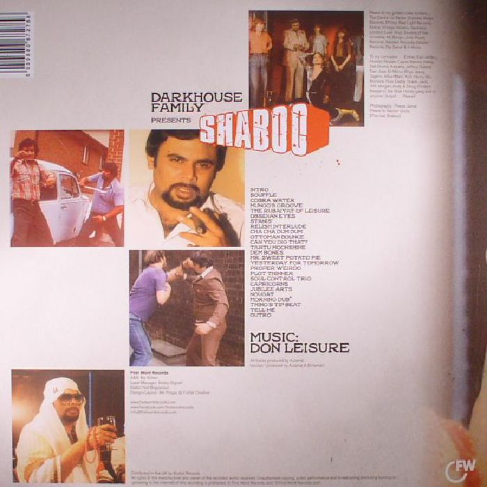 DON LEISURE - Darkhouse Family Presents Shaboo