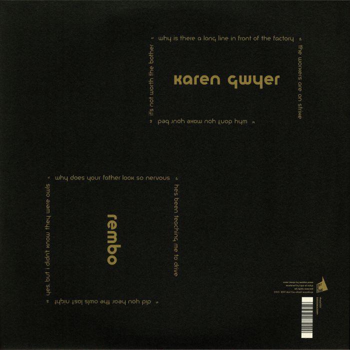 GWYER, Karen - Rembo