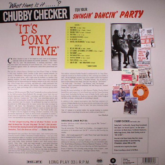 CHECKER, Chubby - It's Pony Time