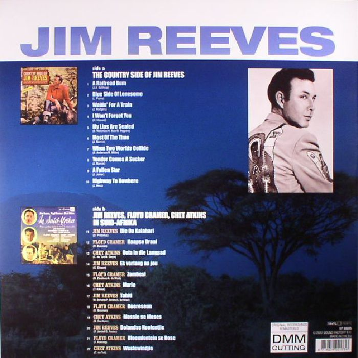 REEVES, Jim with FLOYD CRAMER/CHET ATKINS - In Suid Afrika/The Country Side Of Jim Reeves