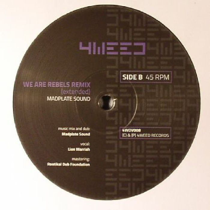 LION WARRIAH/HAIRL DUB/MADPALTE SOUND - We Are Rebels