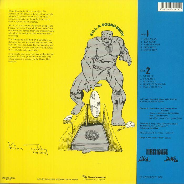 VARIOUS - King Tubbys Presents Soundclash Dubplate Style Part 2