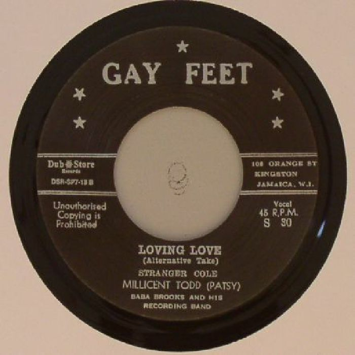 STRANGER COLE/PATSY MILLICENT TODD/BABA BROOKS & HIS RECORDING BAND - Loving Love