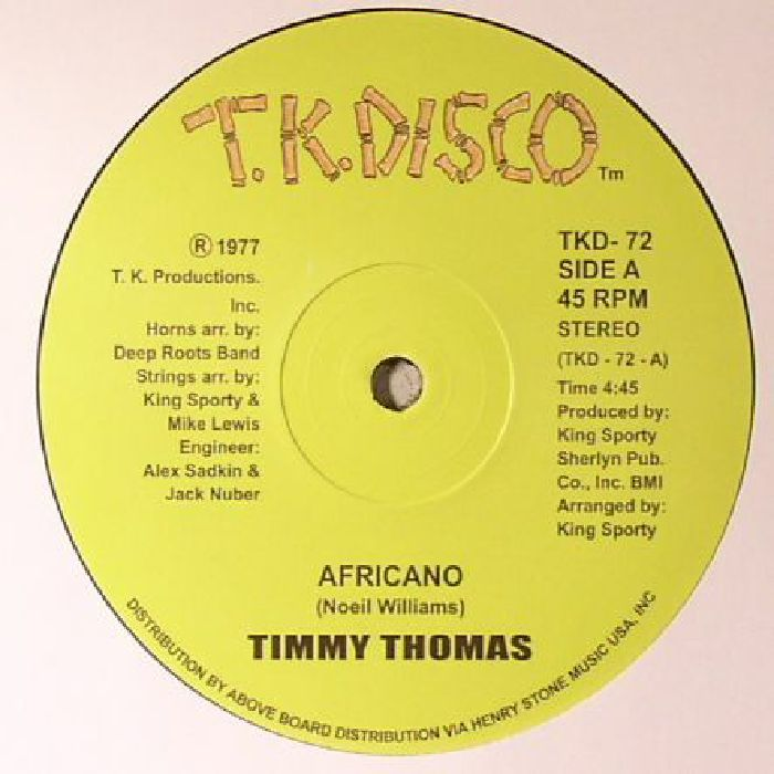 THOMAS, Timmy - Africano (reissue)
