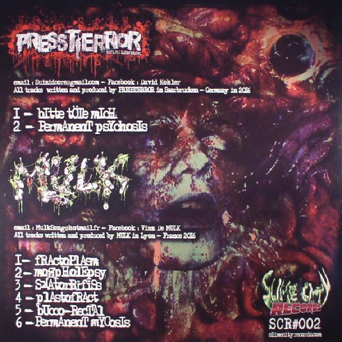 PRESSTERROR/MULK - Psychotronic Genotype
