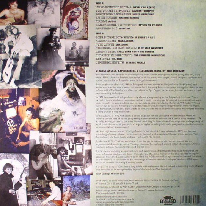 MOROZOV, Yuri - Strange Angels: Experimental & Electronic Music