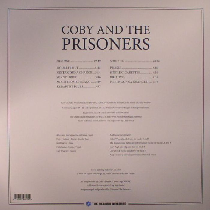COBY & THE PRISONERS - Candy Queen