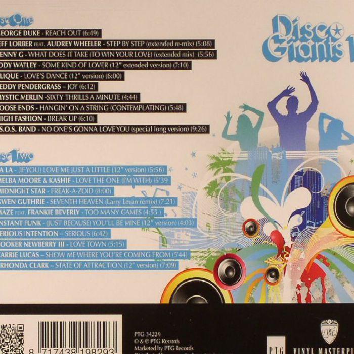 Various Disco Giants Volume 13 20 Full Length Disco