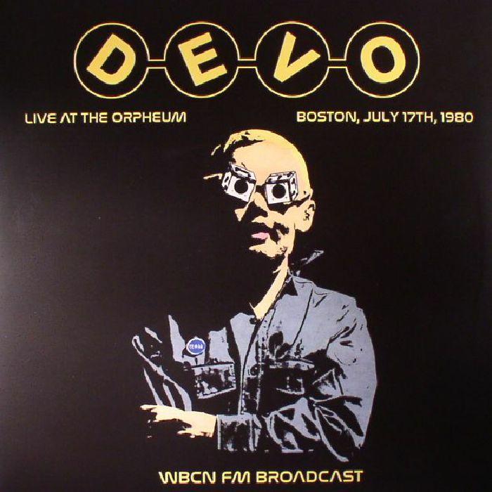 DEVO - Live At The Orpheum Boston 1980: WBCN FM Broadcast