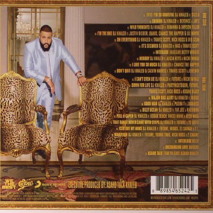 Dj Khaled Grateful Album New 2cd Album Mp3 320 Ebay