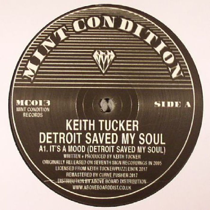 TUCKER, Keith - Detroit Saved My Soul (reissue)