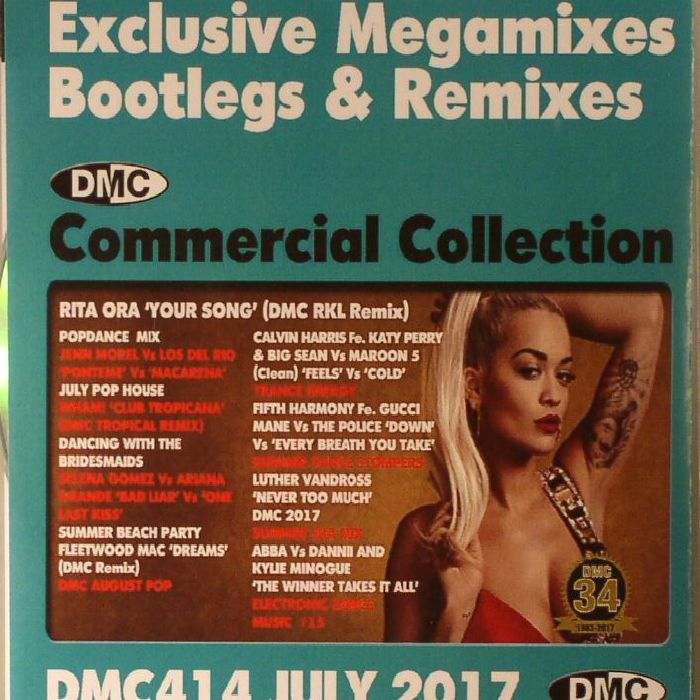 VARIOUS - DMC Commercial Collection July 2017: Exclusive Megamixes Bootlegs & Remixes (Strictly DJ Only)
