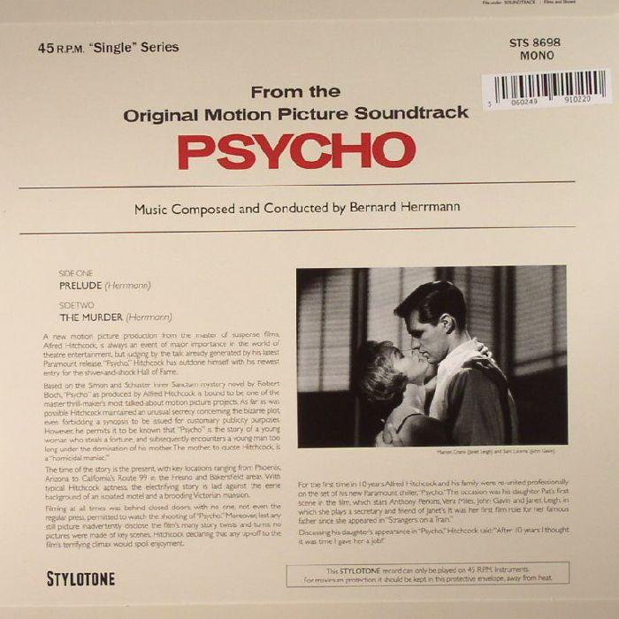 HERRMANN, Bernard - Psycho (Soundtrack) (mono)
