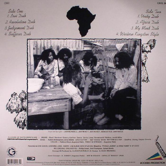 PABLO, Augustus - Africa Must Be Free By 1983 Dub (remastered)