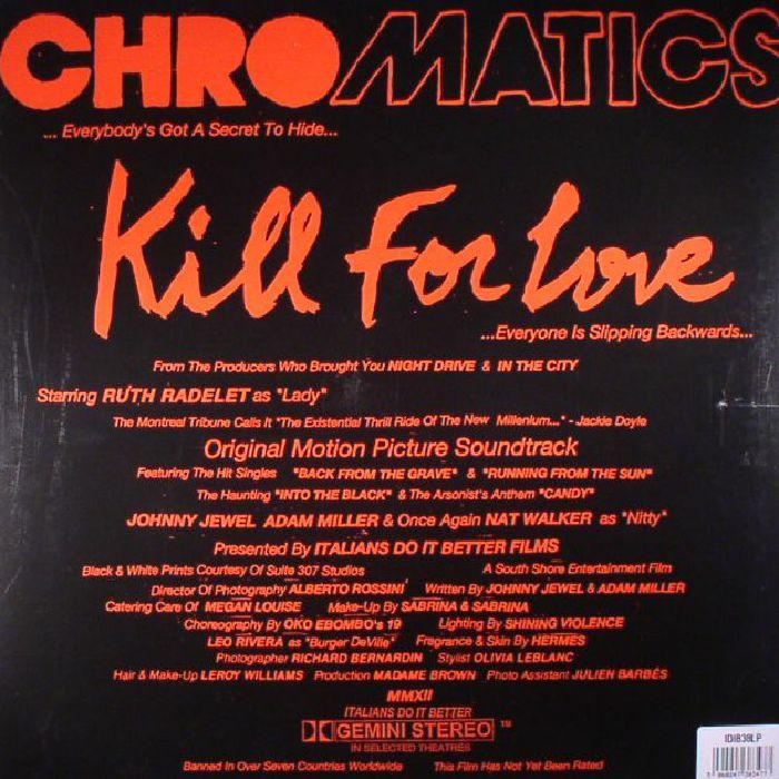 CHROMATICS - Kill For Love (reissue)