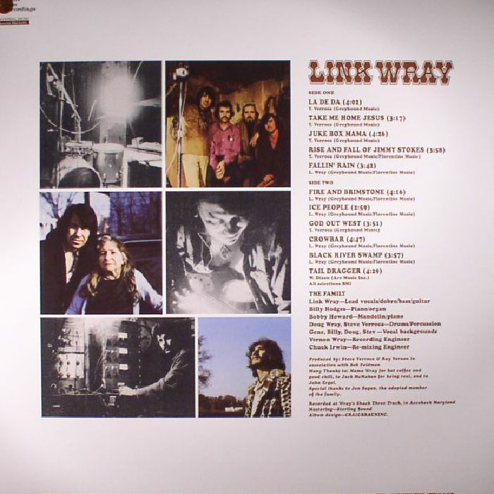 WRAY, Link - Link Wray (reissue)