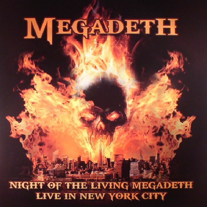 MEGADETH - Night Of The Living Megadeth: Live In New York City
