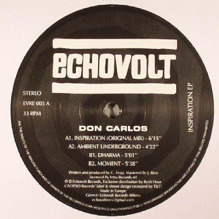 CARLOS, Don - Inspiration EP