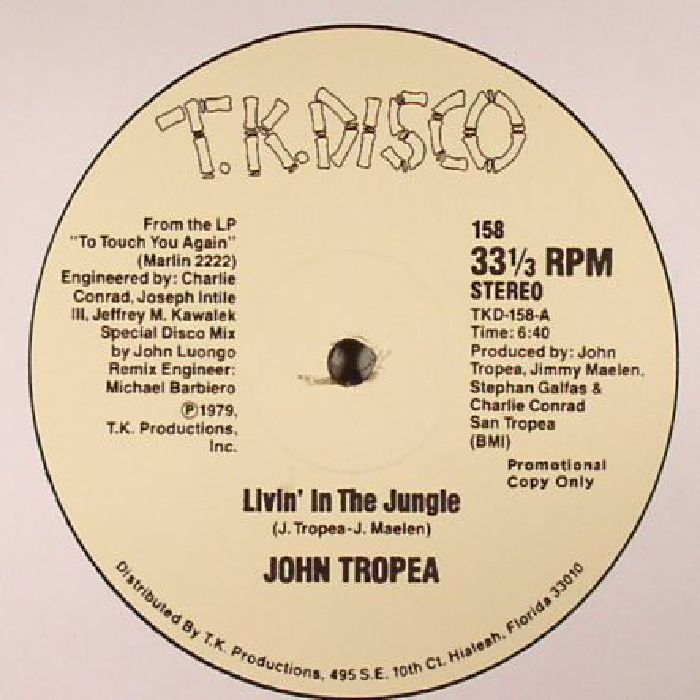 TROPEA, John - Livin' In The Jungle(reissue)