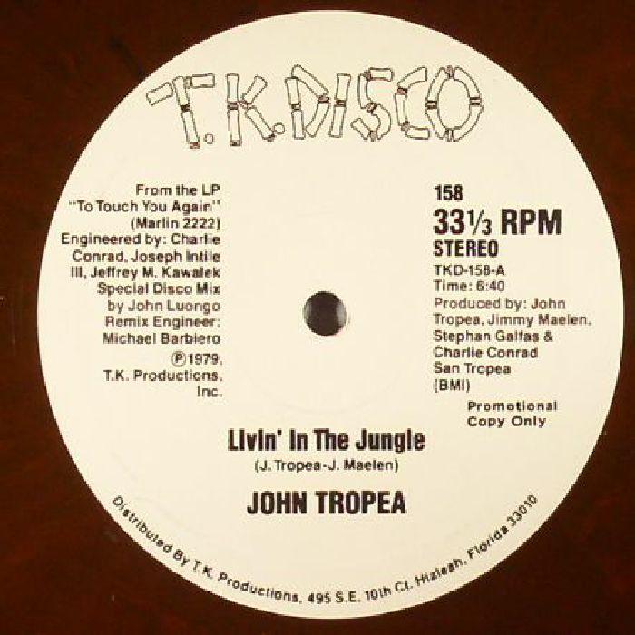 TROPEA, John - Livin' In The Jungle (reissue)