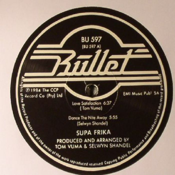 SUPA FRIKA - Love Satisfaction (reissue)