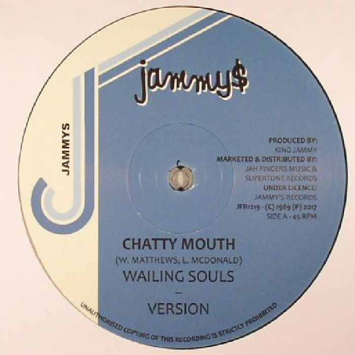 WAILING SOULS/DENNIS BROWN - Chatty Mouth