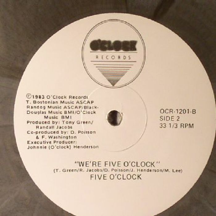 FIVE O'CLOCK - When The Cat's Away (reissue)