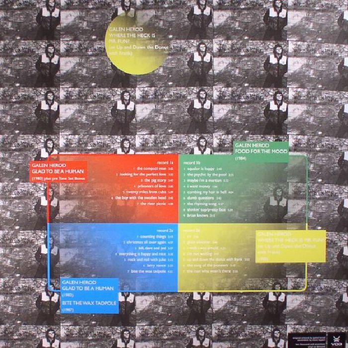 HEROD, Galen - Word & Musics Recordings 1983-88