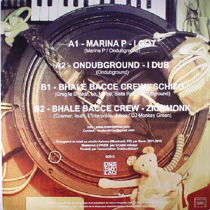 MARINA P/ONDUBGROUND/BHALE BACCE CREW - I Got