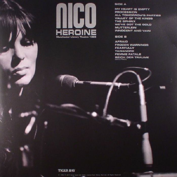 NICO - Heroine: Manchester Library Theatre 1980