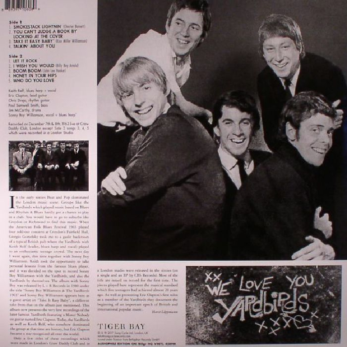 YARDBIRDS, The - London 1963: The First Recordings (reissue)