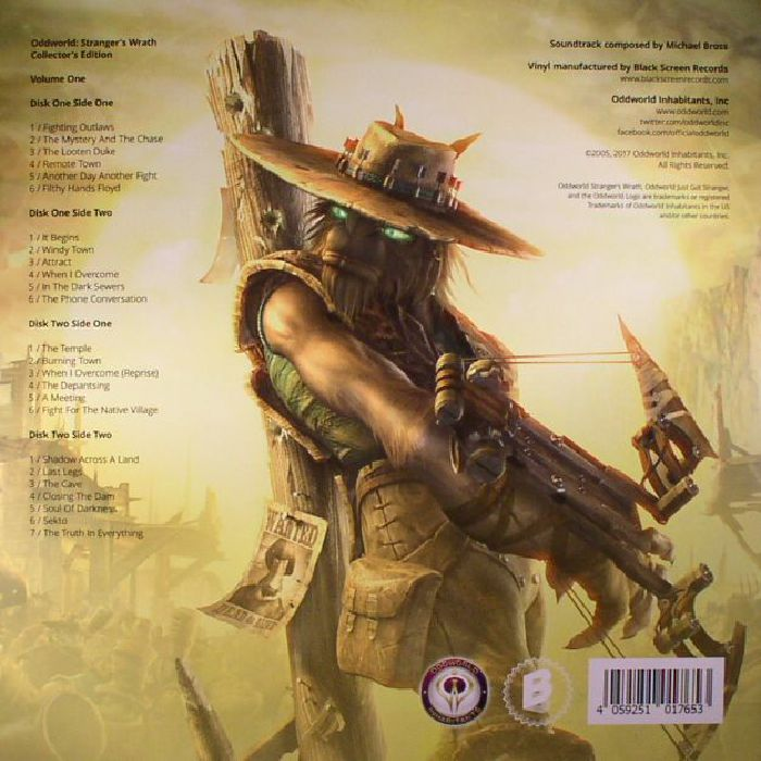 BROSS, Michael - Oddworld: Stranger's Wrath: Collector's Edition Volume 1 (Soundtrack)