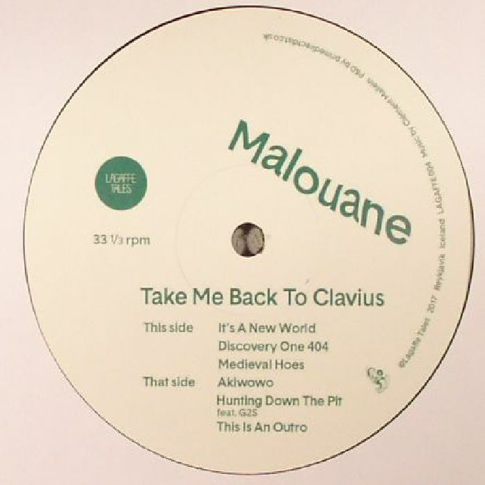 MALOUANE - Take Me Back To Clavius