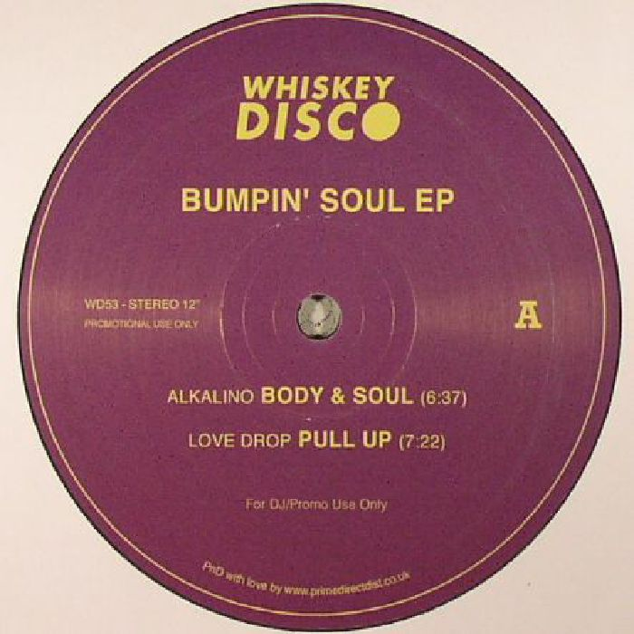 ALKALINO/LOVE DROP/TERRENCE PEARCE/ALEX ZUIEV - Bumpin' Soul EP