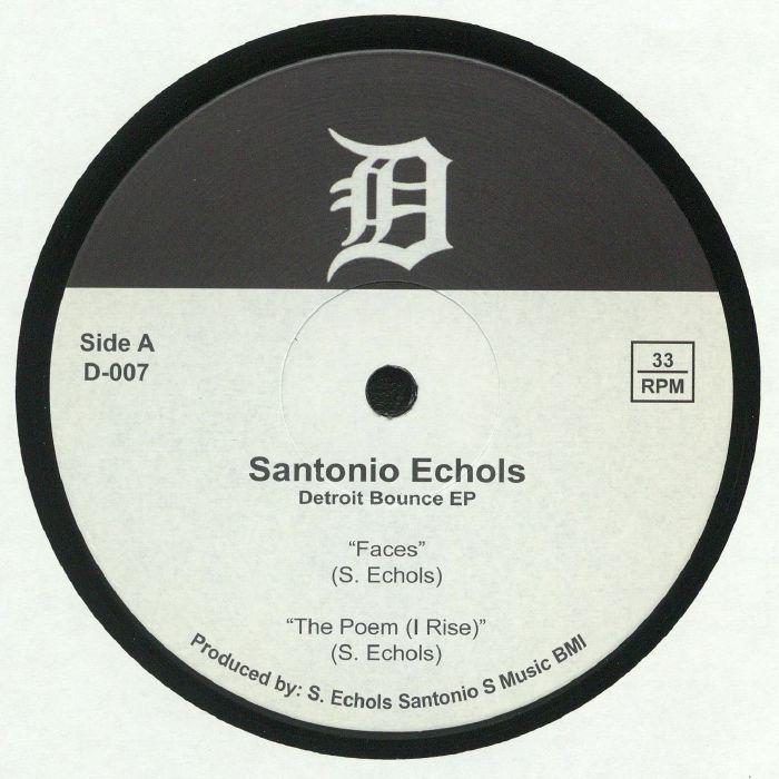 ECHOLS, Santonio - Detroit Bounce EP