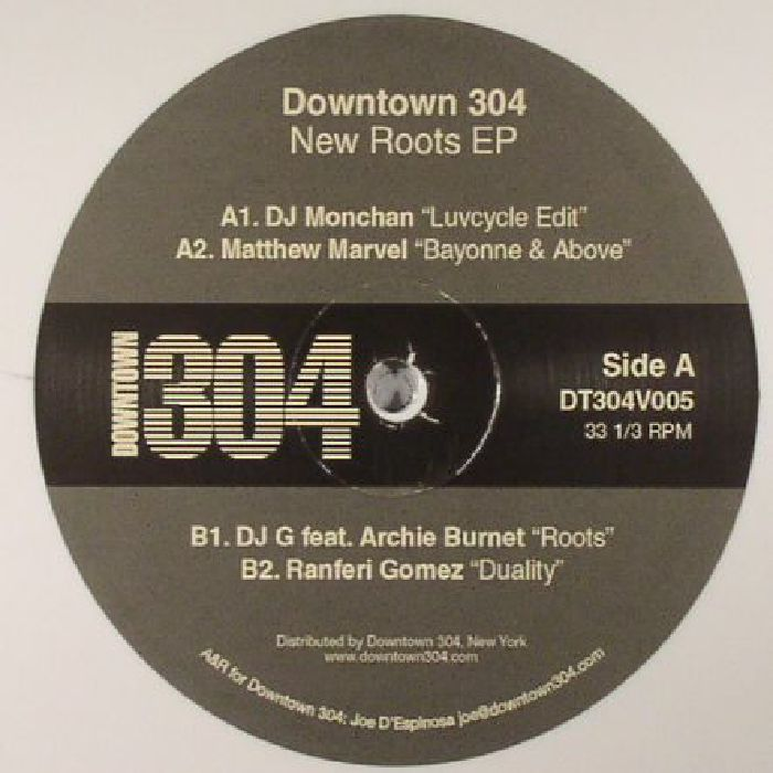 DJ MONCHAN/MATTHEW MARVEL/DJ G/RANFERI GOMEZ - New Roots EP