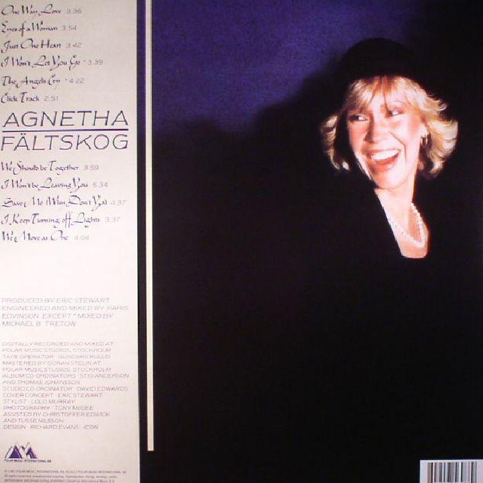FALTSKOG, Agnetha - Eyes Of A Woman (reissue)