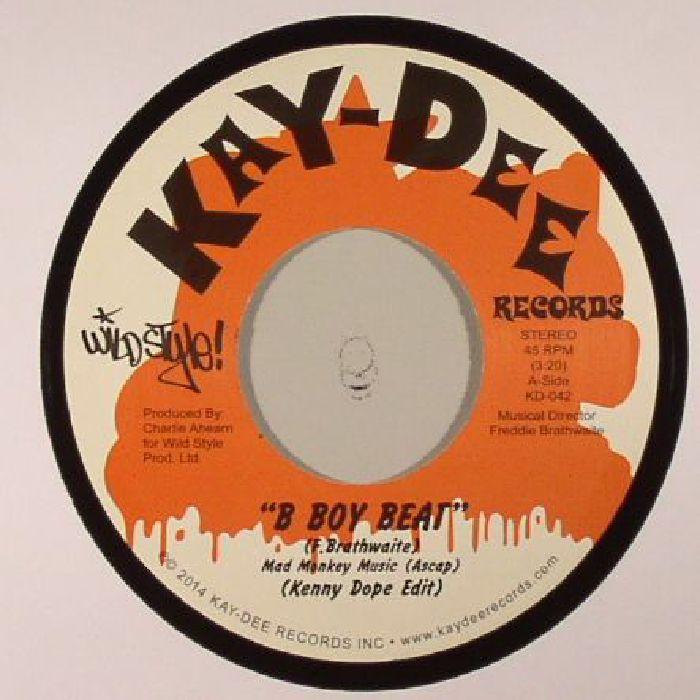 DOPE, Kenny presents WILDSTYLE BREAKBEATS - B Boy Beat