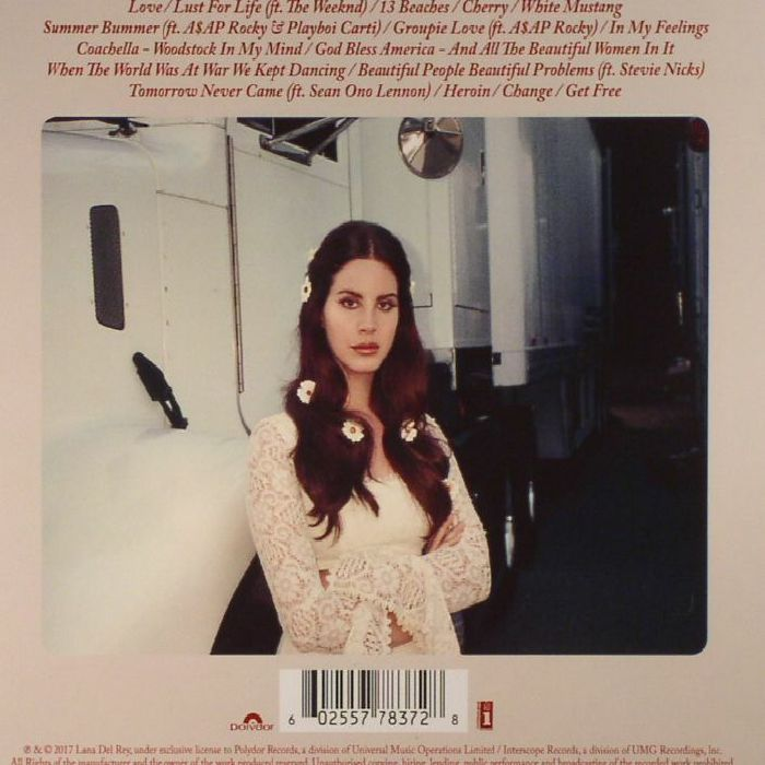 DEL REY, Lana - Lust For Life
