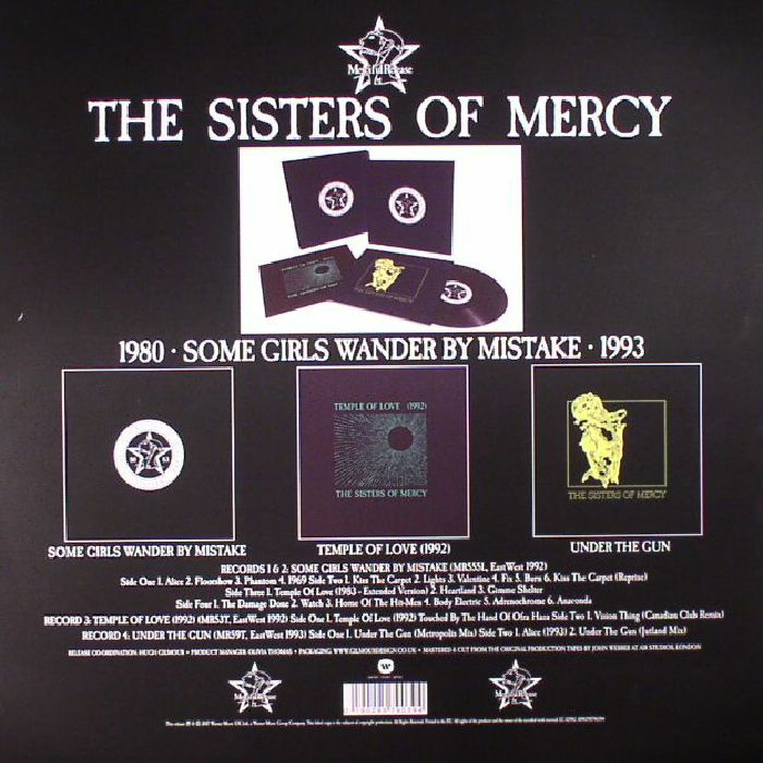 SISTERS OF MERCY, The - Some Girls Wander By Mistake
