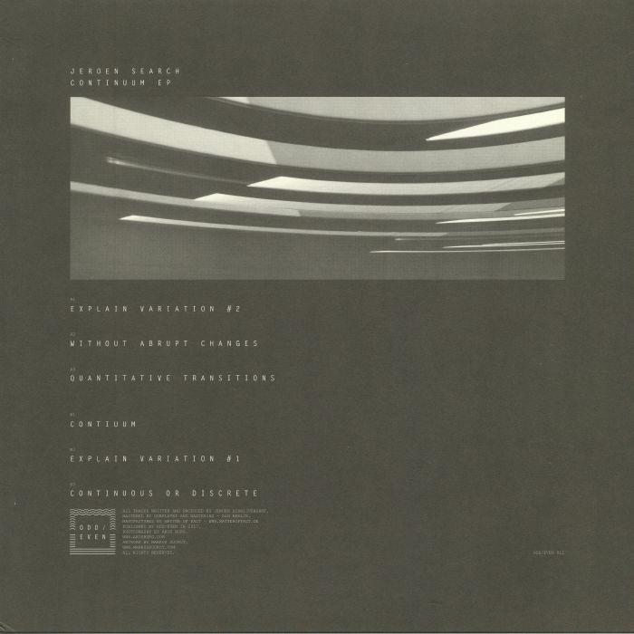 SEARCH, Joroen - Continuum EP